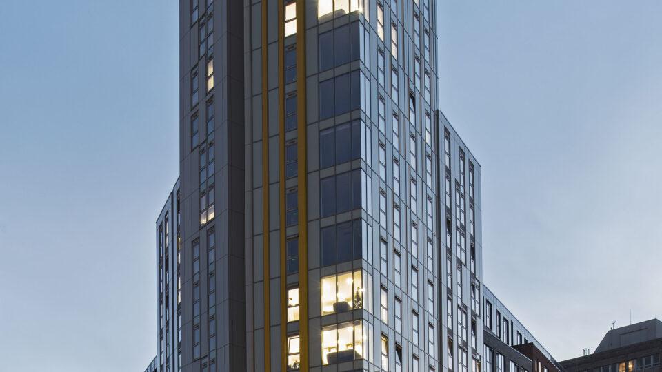 New Bridewell student housing tower