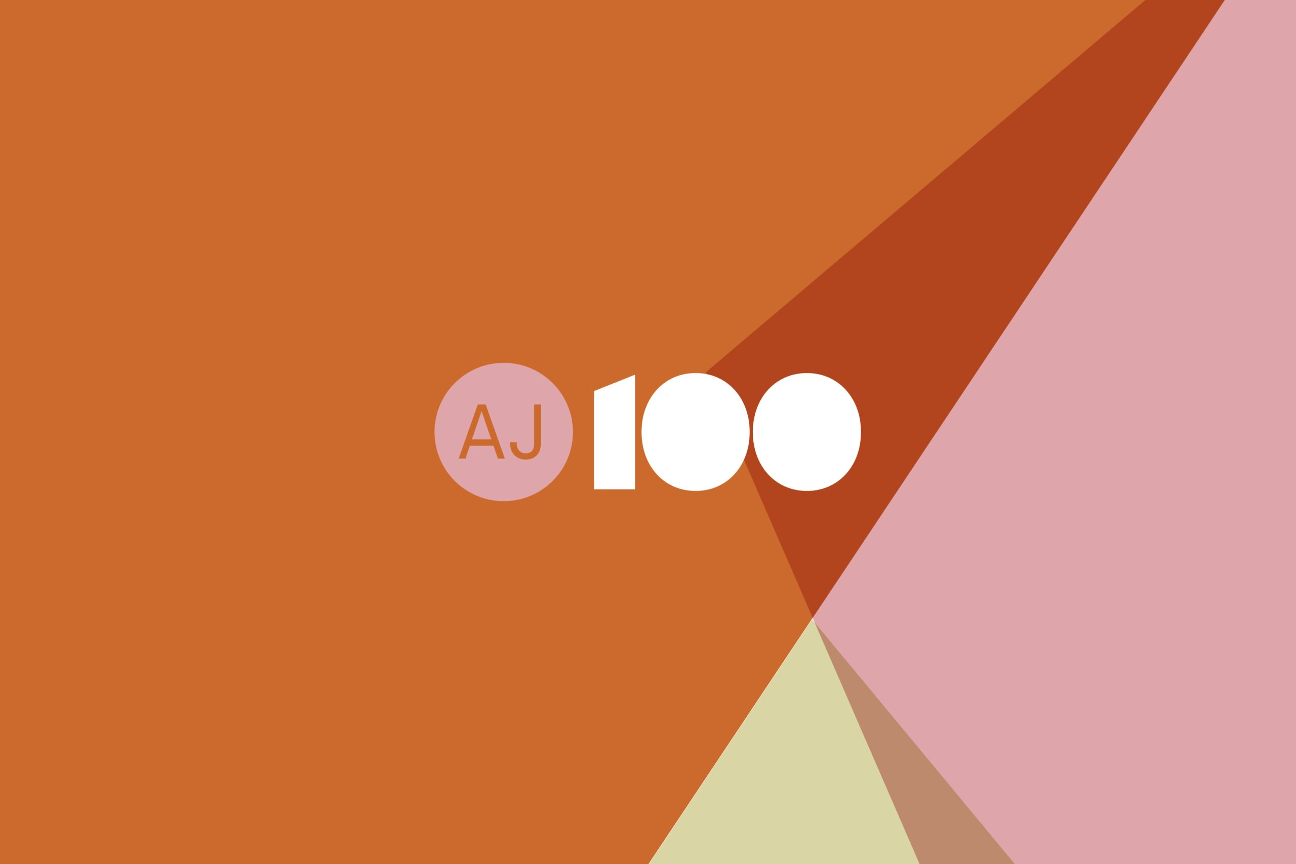 AJ100 logo for 2020